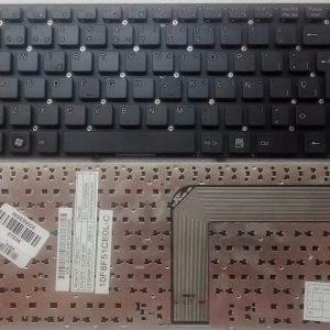 Teclado para notebook Positivo Exo Hr14 Noblex Nb1405 BGH C510 original en español.